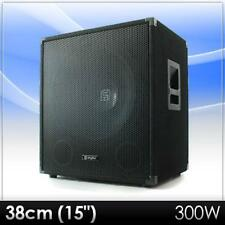 "[B-WARE] PROFI 38CM (15"") DJ PA SUBWOOFER BASS LAUTSPRECHER BOX"