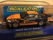 Scalextric Jaguar XKR GT3 concept 2 Comme neuf CONDITION BOXED C3181