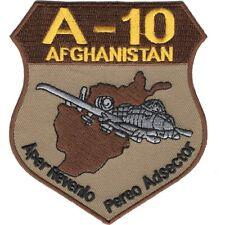 USAF A-10 Thunderbolt Afghanistan-DESERT Patch NEW!!!