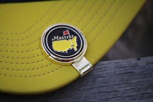 The Masters Black with Logo Ball Marker Only Free Shipping