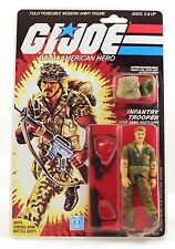 1985 GI G.I. JOE FOOTLOOSE V1 action figure mint on sealed card MOSC vintage