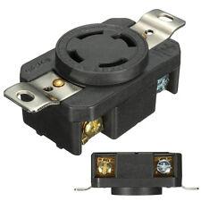 Heavy Duty NEMA L14-30R 3-Pole 4-Wire Twist Lock Locking Receptacle 30A 125-250V