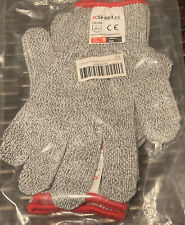 Xshield Protective Cut Resistant Gloves Level 5 Certified Safety Size Small