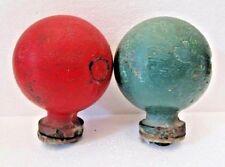 VINTAGE 2 pcs BALLS for Wooden BINNACLE Compass from SESTREL - 100% ORIGINAL