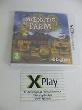 3DS My Exotic Farm Nuevo Precintado Pal España