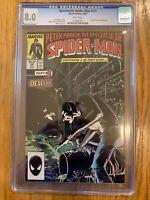 Spectacular Spider-Man 131 CGC 8.0 VF Kraven Last Hunt Mike Zeck cover Marvel