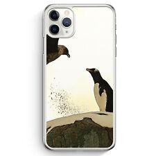 Pinguin & Vogel iPhone 11 Pro Max Hülle Motiv Design Tiere Schön Süß Cover Ha...