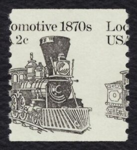 #1897A 2c Locomotive, Misperf, Mint **ANY 5=FREE SHIPPING**