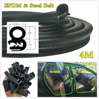Rubber Car Door Seal Weatherstrip High Quality EPDM & Steel Belt Sealing Strips