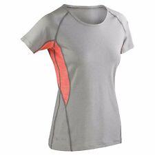 Womens Short Sleeve T-Shirt Tee Top Gym Sports Yoga Breathable Running T Shirt