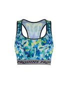Proskins Active Ladies ZigZag Print Crop Top  *SALE*