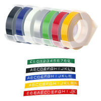 Equivalent Dymo Embossing Label Tape Self-Adhesive 3D Plastic S0898130 ,9mm x 3m