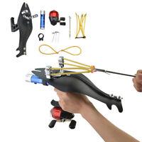 Archery Bowfishing Darts Reel Slingshot Kit Catapult Bow Fishing Hunting Set