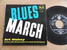 """DISQUE 45T DE ART BLAKEY  """" BLUES MARCH """""""