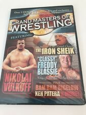 Grand Masters Of Wrestling NEW - Nicolai Volkoff Iron Sheik Bam Bigeow Blassie