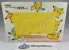 New Nintendo 3DS XL Pokemon Pikachu Yellow Edition (NA USA Version) NEW IN-HAND!