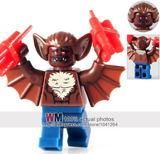 MAN-BAT Batman Movie custom minifigure Fits Lego  - TRUSTED UK SELLER