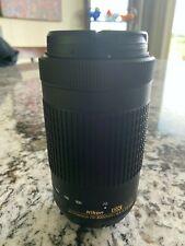 NIKON LENS 70-300mm VR AFPFull-Frame FX f/4.5-5.6E ED MINT CONDITION NEW