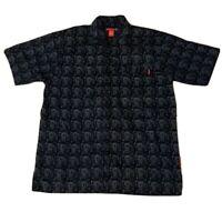 Vintage FUBU fat albert Short Sleeve Button Up