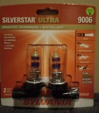 Sylvania SilverStar Ultra 9006 Dual Pack Halogen Bulbs Brand New/Sealed💡💡