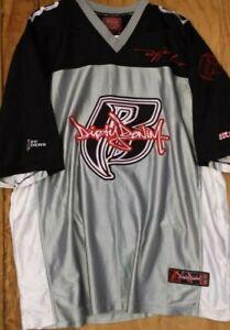 RUFF RYDERS Jersey Dirty Denim SUPER RARE 90'S vintage DMX, size XXL