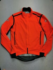 Castelli Perfetto ROS Long Sleeve Jersey Orange 2XL