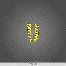 07342 Cannondale Bicycle gras Autocollants-Decals-Transferts-Jaune