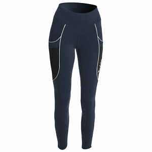Tredstep Allegro Compression Womens Pants Riding Tights - Navy All Sizes