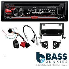 Hyundai Santa Fe 2010 On JVC Bluetooth USB CD MP3 AUX SWC Car Stereo Black Kit