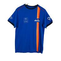 ELLESSE Blue Motorsport Racing Logo T Shirt Aston Martin Racing *BNWT* Medium H1
