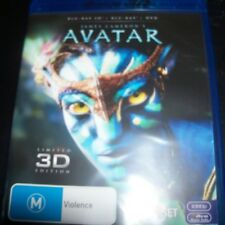 Avatar (James Cameron) (Australia Region B) 3D BLURAY  + BLURAY – New