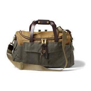 Filson Heritage Sportsman Bag (Tan and Otter Green)
