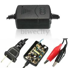 12V 1.25A ATV Portable Smart Compact Battery Charger For Car Van Motorcycle