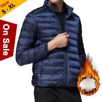 Mens Packable Down Jacket 90% Duck Goose Down Coat Lightweight Puffer Outwear