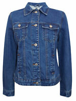 DENIM&CO LADIES GENUINE DENIM JACKET BRAND NEW SIZES 6uk8uk10uk12uk14uk16uk20uK