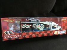 'Racing Champions 1/64 Valvoline transporter with nascar Collectors NEW IN BOX