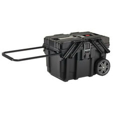 Keter Roc 238270 Heavy-duty Tool Box 57L Storage Wheeled Hard Case Trolley