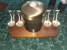Vintage Pipe Rack With Humidor