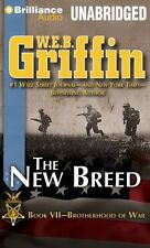 THE NEW BREED (Brotherhood of War) unabridged audio CD by W.E.B. GRIFFIN 12 Hrs!
