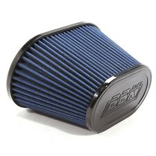 """BBK Performance 1741 Replacement Oval Cold Air Intake Filter - Blue 3.5"""" Inlet"""