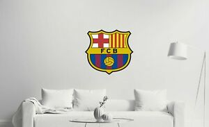Barcelona Logo Wall Decal for Home or Office Decoration - Removable & Reusable
