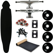 "Moose Longboard Complete 9"" x 43"" Kicktail Black"