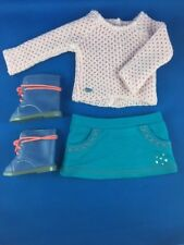 AMERICAN GIRL   SPARKLE SWEATER OUTFIT WITH BOOTS