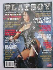 PLAYBOY JANUARY 2002 Joanie Laurer (aka Chyna)