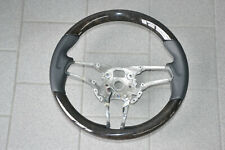 Porsche Cayenne Macan Panamera 991 Lenkrad Holz Leder schwarz Steering Wheel