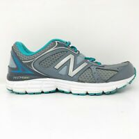 New Balance Womens 560 V6 W560LG6 Gray Teal Running Shoes Lace Up Size 8 B
