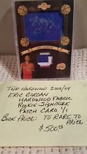 ERIC GORDON 2008-09 TOPPS HARDWOOD  ROOKIE RC AUTO PATCH 1/1!