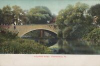 Postcard King Street Bridge  Chambersburg PA