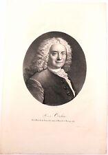 Lithographie de Sudré, Portrait de Cochin