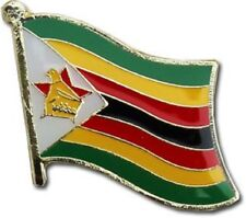 Zimbabwe Country Flag Bike Motorcycle Hat Cap lapel Pin